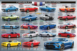The Camaro Evolution Posters
