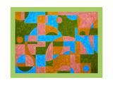 Kandinsky... Where art thou. 2017 Impressão giclée por Peter McClure