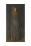 'Arrangement in Yellow and Gray': Effie Deans, c.1876-78 Reproduction procédé giclée par James Abbott McNeill Whistler