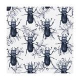 Stag Beetles, 2017 Reproduction procédé giclée par Andrew Watson