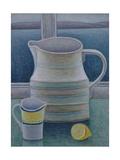 Still Life with Two Jugs and Lemon Giclée-vedos tekijänä Ruth Addinall