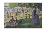 A Sunday on La Grande Jatte, 1884-86 Reproduction procédé giclée par Georges Pierre Seurat