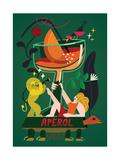 Aperol Spritz, 2017 Impressão giclée por Yuliya Drobova