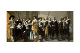 Militia Company of District XI under Command of Reynier Reael, Known as The Meagre Company, 1637 Giclee Print by Frans Hals