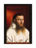 Portrait of a Carthusian, 1446 Lámina giclée por Petrus Christus
