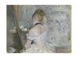 Woman at Her Toilette, 1875-80 Giclee Print by Berthe Morisot