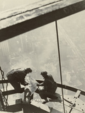Empire State Building, New York, 1931 写真プリント : ルイス・ウイックス・ハイン