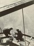 Empire State Building, New York, 1931 Fotoprint van Lewis Wickes Hine