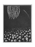Fireworks, The World's Fair VI, 1901 Impressão giclée por Felix Edouard Vallotton