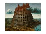The Tower of Babel, c.1565 Giclée-vedos tekijänä Pieter the Elder Brueghel