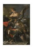 Allegory of Fortune, c.1658-9 Giclée-tryk af Salvator Rosa