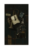 Ordinary Objects in the Artist's Creative Mind, 1887 Giclée-tryk af John Frederick Peto
