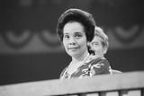 Coretta Scott King at the Democratic National Convention, NYC, 1976 Fotografisk tryk af Warren K. Leffler