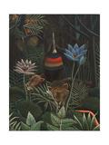 Detail of The Dream, 1910 Giclée-Druck von Henri J.F. Rousseau
