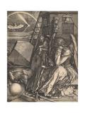 Melencolia I, 1514 Giclée-vedos tekijänä Albrecht Dürer or Duerer