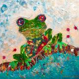 Frog Plakater af Sunshine Taylor