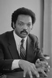 Rev. Jesse Jackson, 1983 Fotografisk tryk af Warren K. Leffler