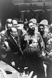 Fidel Castro at a meeting of the United Nations General Assembly, 1960 Fotografisk tryk af Warren K. Leffler