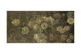 Blomster Giclée-tryk af Claude Monet