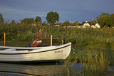 Fishing Boat in the Reed of the Saaler Bodden Close Ahrenshoop-Althagen Photographic Print by Uwe Steffens