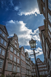 Germany, Hamburg, Gangeviertel, Half-Timbered Houses Reproduction photographique par Ingo Boelter