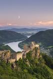 Castle Ruin Aggstein, the Danube, Wachau, Austria Photographic Print by Rainer Mirau