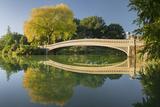 Bow Bridge, Central Park, Manhattan, New York Impressão fotográfica por Rainer Mirau