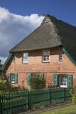Old Farmhouse in Ahrenshoop, Fischland Photographic Print by Uwe Steffens