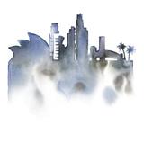 Cityscape Sydney Giclee Print by Kristine Hegre
