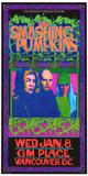 Smashing Pumpkins Infinite Sadness Vancouver 1996 Pósters
