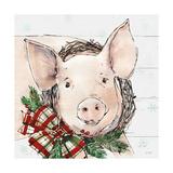 Holiday on the Farm VII on Gray Poster von Anne Tavoletti