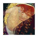 Danae, 1907-1908 Lámina giclée prémium por Gustav Klimt