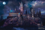 Harry Potter - Hogwarts Affiche