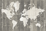 Old World Map Neutral Affiches par  Wild Apple Portfolio