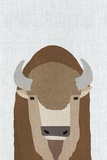 Bisontes y búfalos Láminas por  Annie Bailey Art