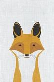 Foxy Kunst von  Annie Bailey Art