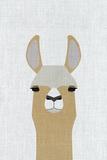 Llama Kunstdrucke von  Annie Bailey Art