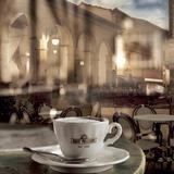 Montepulciano Caffe 1 Fotografie-Druck von Alan Blaustein