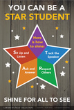STAR Student - Shine for All to See Poster von  Gerard Aflague Collection