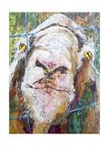 Goodness Goat Giclée-Premiumdruck von Elizabeth St. Hilaire