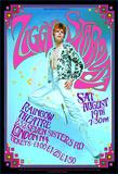 David Bowie as Ziggy Stardust 1972 London concert Plakater af Bob Masse