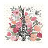 Paris is Blooming III Prints by Laura Marshall