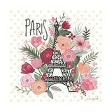 Paris is Blooming II Poster by Laura Marshall