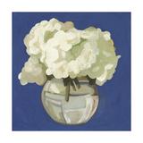 White Hydrangeas I Premium Giclee Print by Emma Scarvey