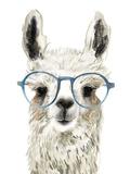 Hip Llama II Giclée-Premiumdruck von Victoria Borges