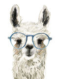 Hip Llama II Lámina giclée prémium por Victoria Borges
