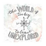 World Traveler II Poster di Laura Marshall