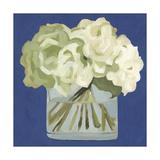 White Hydrangeas II Premium Giclee Print by Emma Scarvey
