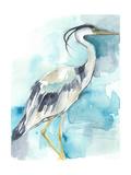 Heron Splash I Premium Giclee Print by Jennifer Goldberger