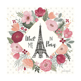 Paris is Blooming V Pôsters por Laura Marshall